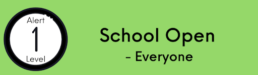 What happens at each ALERT Level, Paparangi School
